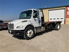 2006 (Titled As A 2012 Assembled Vehicle) Freightliner Business Class M2 S/A Flatbed Truck