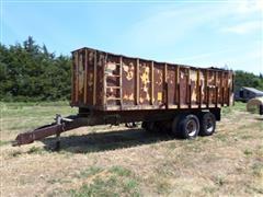 T/A End Dump Forage Wagon