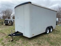 1991 Pace 16' T/A Enclosed Trailer