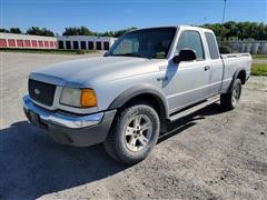2002 Ford Ranger 4x4 Extend Cab Pickup
