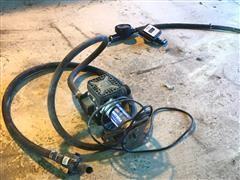 Sotera 400B Electric Diaphragm Pump & Flow Serve Meters