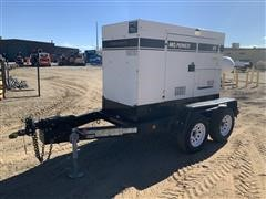 2014 Multiquip DCA-45SSIU4F T/A Trailer-Mounted Generator