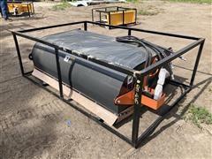 2021 TMG PS72 Skid Steer Sweeper Bucket