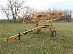 2016 Vermeer VR1224 12 Wheel Pull-Type Rake