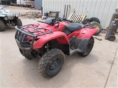2012 Honda Rancher TRX420FM 4x4 ATV