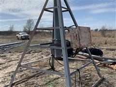 T-L Single Span Irrigation Pipe, Center Pivot & Bracing