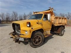 1990 Ford F800 S/A Dump Truck