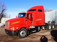 2004 Kenworth T600 Truck Tractor W/475 HP C15 Accert Caterpillar