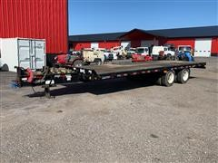 2010 Jet T/A Tag Flatbed Trailer