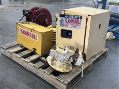 Industrial Hose Reels, Flammable Cabinets & Hand Vice
