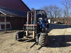 1993 TeleDyne Princeton D5000 All-Terrain 'Piggyback' Forklift