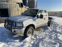 2005 Ford F250 4x4 Extended Cab & Chassis (INOPERABLE)