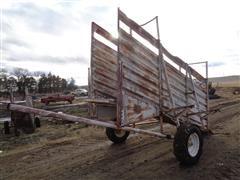 Baasch 12' Portable Loading Chute W/Panel Carrier Brackets