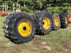 T-L 14.9-24 Pivot Tires And Rims