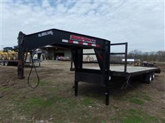 2006 Trailerman Hired Hand T/A Flatbed Trailer