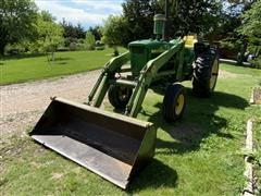 John Deere 4020 2WD Tractor W/Loader