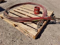 Steiger 450/470 Wheel Seal, Turbo Charger Clamp