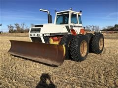 1981 Case 4890 4WD Tractor W/Blade