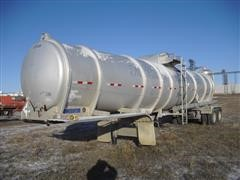 2013 Mueller DOT 407 T/A Crude Oil Tanker Trailer