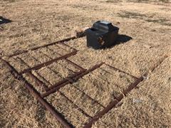 "2 Hole Automatic Livestock Waterer W/2"" Back Panel"