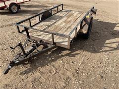2008 Tex-Mex Utility Trailer