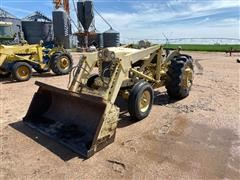 1960 Ford 1801 2WD Tractor W/Loader