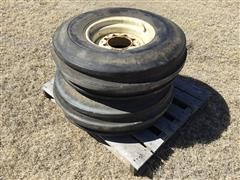 Harvest King 10.00-16 Tri-Rib Front Tractor Tires And Rims