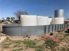 Sioux 12,000-Gallon Liquid Tanks & Containment System