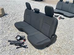 2020 Dodge Pickup Back Seat