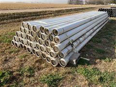 "Kroy 8"" Plastic Gated Irrigation Pipe"