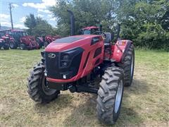 2017 Mahindra 7085 4WD Compact Utility Tractor