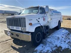 1989 GMC TopKick 7000 S/A Fuel Truck (INOPERABLE)