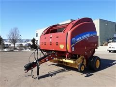 2014 New Holland RB560 Round Baler With Monitor