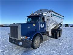 1995 Peterbilt 379 T/A Tender Truck W/Willmar SS Box