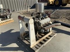 Chevrolet GM454 Irrigation Motor On Skid