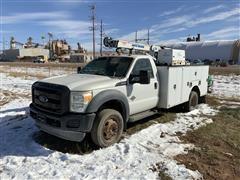2012 Ford F550 Service Truck W/Crane (INOPERABLE)