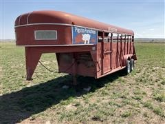 1978 Shelby T/A G/N Livestock Trailer