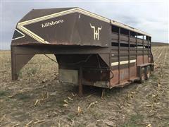 Hillsboro 7'x16' T/A Gooseneck Livestock Trailer