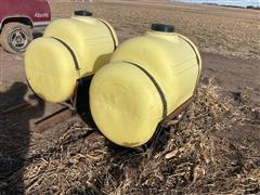 Snyder 200 Gal Poly Saddle Tanks