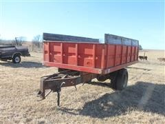Shop Built Dual Wheel Dump Bed Trailer