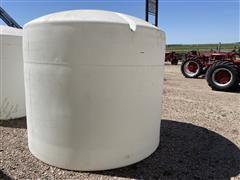 3000 Gallon Poly Fertilizer Tank