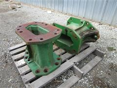 John Deere 50 Series To S Series 400mm Axle Spacers For Duals