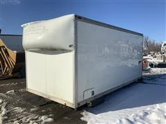 Timpte Fuel & Lube Enclosed Truck Body