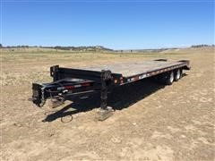 2008 Felling FT-30-2 T/A Flatbed Trailer