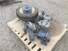 John Blue Ground Driven Fertilizer Pump
