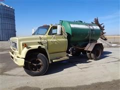 1985 Chevrolet C70 S/A Liquid Fertilizer Tender Truck