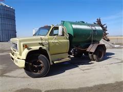 1985 Chevrolet C70 S/A Liquid Fertilizer Tender Truck