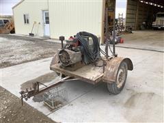 Miller AEAD-200L ARC Welder/Generator W/Trailer