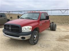 2009 Dodge RAM3500 Dually Crew Cab & Chassis Pickup