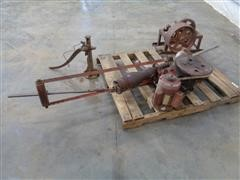 Dempster Belt Driven Pump Jack W/Well Head